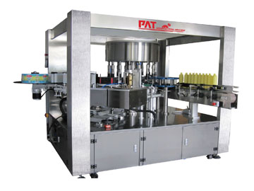 Opp Hot Melt Glue Labeling Machine for Round Bottles