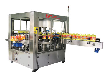 OPP Hot Melt Labeling Machine for Square Bottles